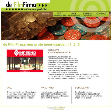 deFilmFirma screen 1